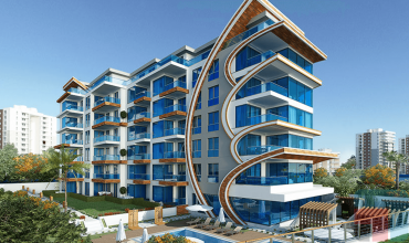 Properties in Alanya, 2 Bedrooms Bedrooms, ,2 BathroomsBathrooms,Apartment,For Sale,ARNELYA BEACH RESIDENCE,1,1051