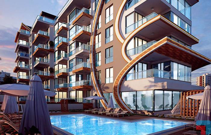 Properties in Alanya, 1 Bedroom Bedrooms, ,4 BathroomsBathrooms,Penthouse,For Sale,ARNELYA BEACH RESIDENCE,5,1052