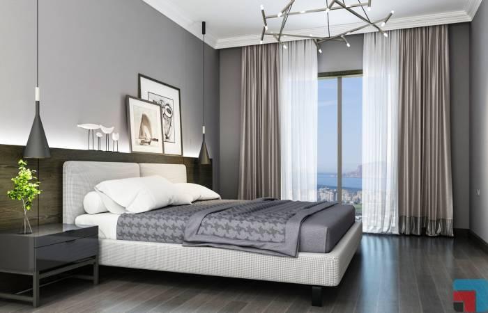 233, Properties in Alanya, 1 Bedroom Bedrooms, ,2 BathroomsBathrooms,Penthouse,For Sale,Exodus Residence Alanya,233,1056