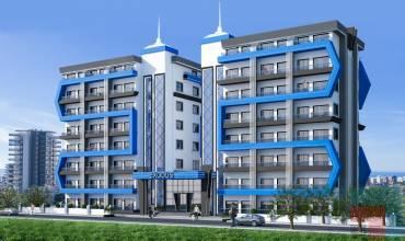 233, Properties in Alanya, 1 Bedroom Bedrooms, ,2 BathroomsBathrooms,Penthouse,For Sale,Exodus Residence Alanya,233,6,1057
