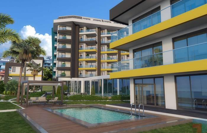 Properties in Alanya, 1 Bedroom Bedrooms, ,1 BathroomBathrooms,Apartment,For Sale,1076