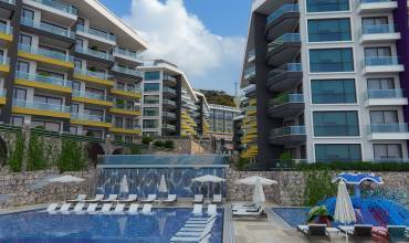 Properties in Alanya, 1 Bedroom Bedrooms, ,3 BathroomsBathrooms,Penthouse,For Sale,KONAK PREMIUM,2,1081