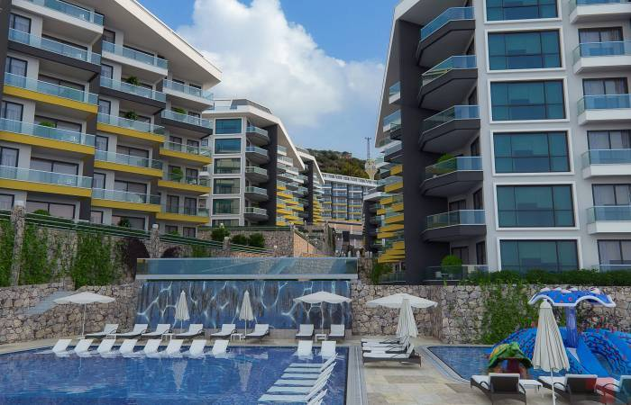 Properties in Alanya, 1 Bedroom Bedrooms, ,3 BathroomsBathrooms,Penthouse,For Sale,KONAK PREMIUM,2,1081