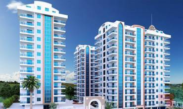 Properties in Alanya, 2 Bedrooms Bedrooms, ,1 BathroomBathrooms,Apartment,For Sale,YEKTA ALARA PARK RESIDENCE,1,1086