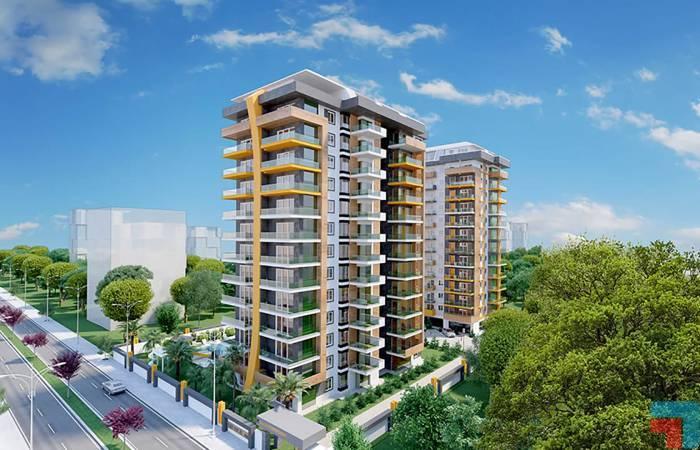 Properties in Alanya, 1 Bedroom Bedrooms, ,1 BathroomBathrooms,Apartment,For Sale,1093