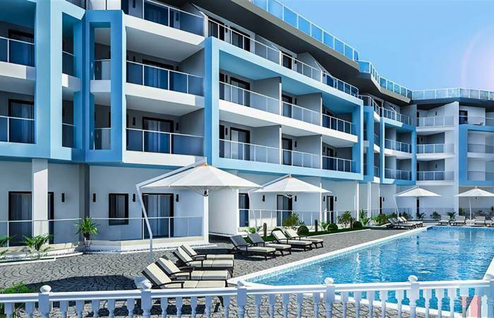 Properties in Alanya, 1 Bedroom Bedrooms, ,1 BathroomBathrooms,Apartment,For Sale,Kargicak Suite Residence,1132