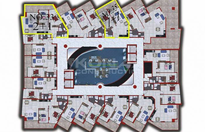mahmutar, Properties in Alanya, 1 Bedroom Bedrooms, ,1 BathroomBathrooms,Apartment,For Sale,mahmutar,1138