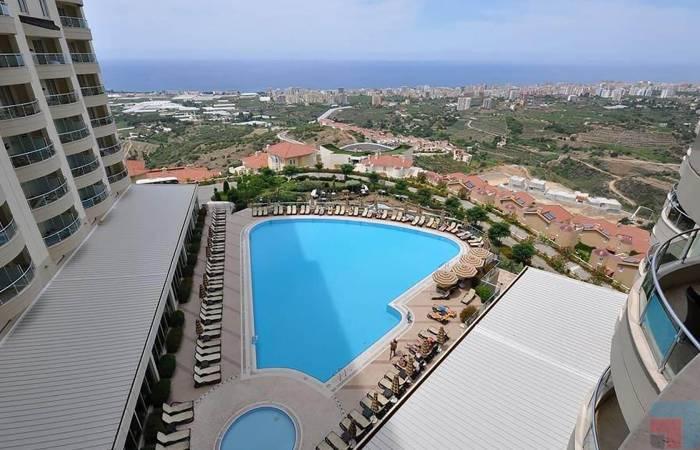 Properties in Alanya, 3 Bedrooms Bedrooms, ,2 BathroomsBathrooms,Apartment,For Sale,Goldcity Tourism Complex,1141
