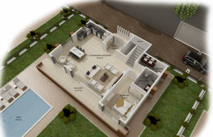 Properties in Alanya, 3 Bedrooms Bedrooms, ,3 BathroomsBathrooms,Villa,For Sale,1151