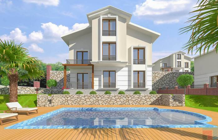 Properties in Alanya, 3 Bedrooms Bedrooms, ,2 BathroomsBathrooms,Villa,For Sale,1,1156