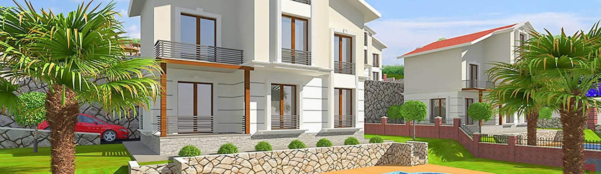Properties in Alanya, 3 Bedrooms Bedrooms, ,2 BathroomsBathrooms,Villa,For Sale,1,1156