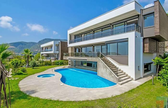 Exclusive villas in Alanya Bektash